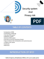security issues in RFID ppt