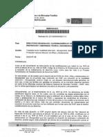 Memorando Transición Modalidad Externado ICBF