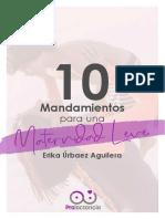10 Mandamientos Maternidad Leve (1)