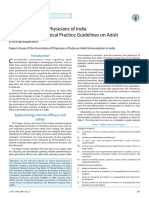 API EBM Guidelines on Adult Vaccination