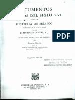 Instrucción Dada Por Fray Juan de Zumárraga
