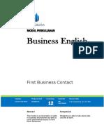MODULE Pertemuan ke 12 - BUSINESS ENGLISH - Prodi Manajemen - Yudi Anjangsana - OK SENT.docx
