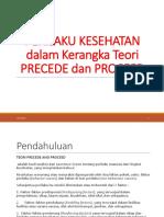 4b. Perilaku Kes dlm Kerangka teori PRECEDE_PROCEED.pptx
