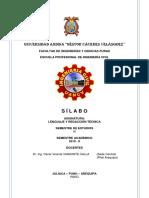 Silabo 2019 II