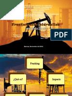 Riesgos de la fracturación hidráulica (FRACKING)