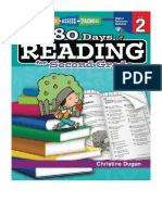 [2013] 180 Days of Reading by Christine Dugan |  Grade 2 - Daily Reading Workbook for Classroom and Home, Reading Comprehension and Phonics Practice, School Level Activities Created by Teachers to Master Challenging Concepts | Shell Education