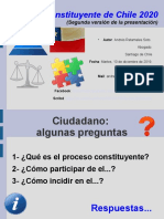 Proceso Constituyente de Chile 2020, segunda versión, Andrés Retamales, 10 de diciembre de 2019