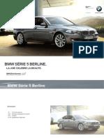 Tarifs BMW Serie5 Berline