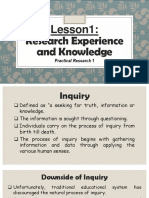 Lesson1-Research Experience and Knowledge.ppt