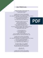 Juice WRLD Lyrics.docx