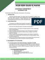 Annex a Internship Plan (1)