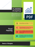 FINAL Fiscal Planning