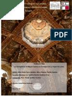 Análisis de los evangelistas de Miguel Cabrera en el Camarín de la Virgen de Tepotzotlán