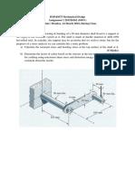 DMM3673 Mechanical Design 201520162 - Assignment 1, Due Date Monday 14 March 2016 During Class