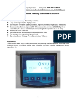 ZS-6150 Online Turbidity Controller With Sensor