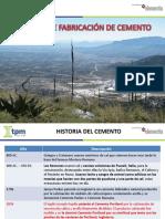 Proceso de Fabricación de Cemento. Ramón Pizaña