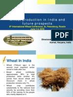 5.Wheat Production 8IWC SS Singh