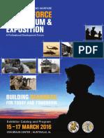 GF 2016 Exhibitor Catalog Program