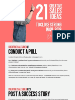 21 Creative Sales Ideas for Q4 2019-Compressed