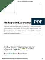 Dieta y cáncer_ Recomendaciones en cáncer de próstata.pdf