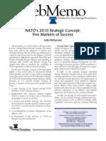 NATO's 2010 Strategic Concept