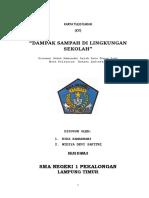 """KARYA TULIS ILMIAH """"DAMPAK SAMPAH DI LINGKUNGAN SEKOLAH"""".docx"""