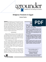 Religious Freedom in Egypt