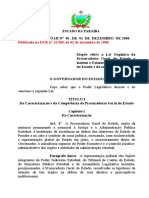 Lei Complementar nº 86  - Lei Orgânica da Procuradoria Geral do Estado - Com veto.pdf