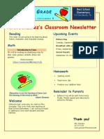 gonzalez m classroomnewsletter