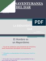 LA BIENAVENTURANZA DEL DAR.pptx