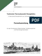 Formelsammlung für das Grundstudium Maschinenbau, Verfahrenstechnik und Chemieingenieurwesen