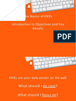 OKR - Introduction to Objectives and Keyresults