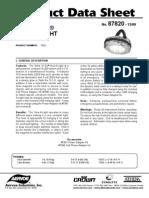 Vers-A-Light Product Data Sheet