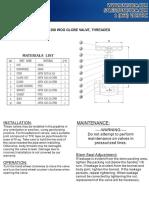 check-globe-valve-series