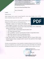 Surat Edaran Pembagian Rapor 2019-2020