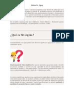 Six sigma o seis sigma.pdf