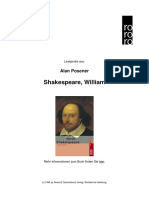 Posener Shakespeare William