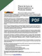 Model elaborare a Planului de Lucru Al Responsabilului Cu Protectia Datelor Dpo examen ANC cod COR 242231