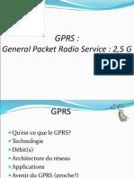 2 GPRS Réseaux Radioélectriques