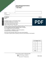 islamiat-comprehenive-worksheet-paper-1-class-9-2019-q-paper
