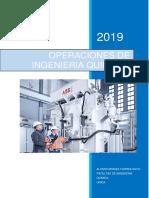 Operaciones de Ingeniería Química I - Facultad de I.Q (UNICA-2019)