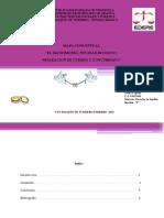 POR ZAIDA CEPEDA CI 9643836 DERECHO DE FAMILIA  MAPA CONCEPTUAL MATRIMONIO NULIDAD SEPARACION DE CUERPOS DIVORCIOS - copia.pptx