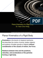 1. Kinematics of rigid body