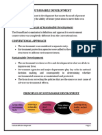 SUSTAINABLE DEVELOPMENT project in word