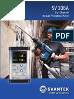 Sv 106 Human Vibration Meter