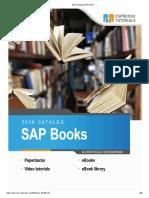2018 Catalog SAP Books