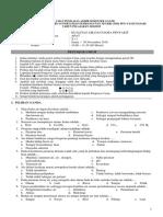 Soal Kualitas Air Perikanan Kelas X