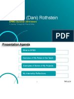 danielle  dani  rothstein internship presentation