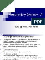 Finansije u biznisu - Predavanja 7