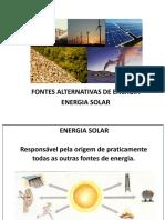 05 Fontes Alternativas de Energia
